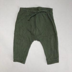 Sweatpants groen met gouddraad Zara 86