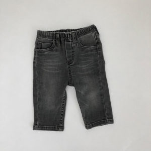 Jeans washed black Petit Filou 8m