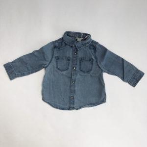 Jeanshemdje Zara 80