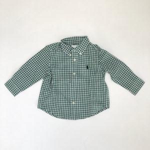 Hemd groen geruit Ralph Lauren