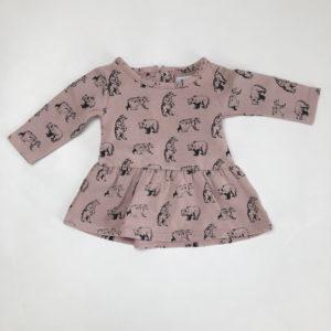 Kleedje roze beren La Redoute 1m