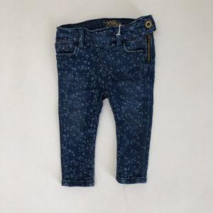 Jeans bloemen Tommy Hilfiger 74