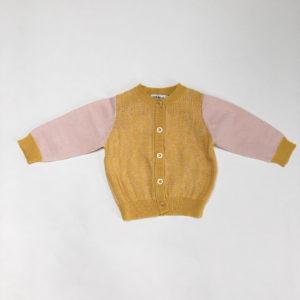 Gilet geel/roze Petit Filou 3m