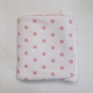Dekentje roze/wit Zara home