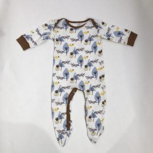 Pyjama forest Fresk 6-12m