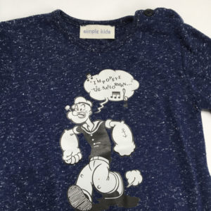 Longsleeve Popeye Simple Kids 1 jaar