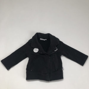Biker jacket met pin Cos I said so 68/74