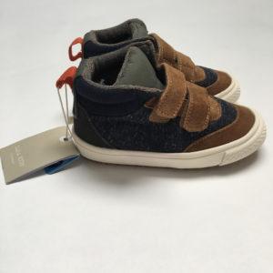 Schoenen met klittenband blauw/bruin Zara maat 23