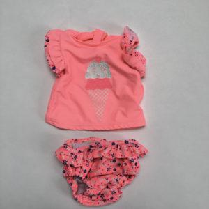 Zwem ensemble roze ijsje jbc 62