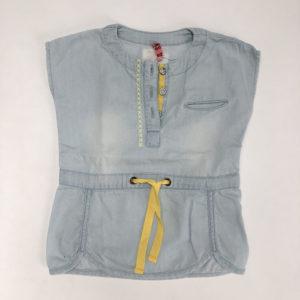 Mouwloos kleedje denim CKS 62