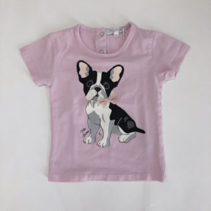 T-shirt franse bulldog Bluebay 92