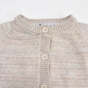 Gilet knit met lichte glitter La Redoute 62