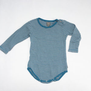 Romper blue stripes Kidscase 80