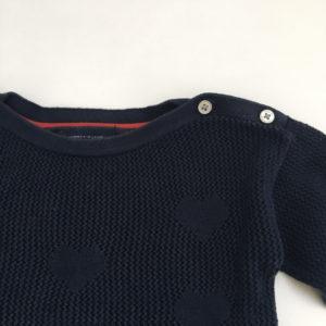 Sweater knit hearts Tommy Hilfiger 92