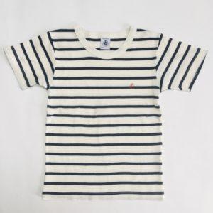 Set van 2 t-shirts stripes Petit Bateau 110