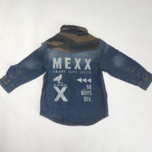 Denim hemd army  Smart guys unite Mexx 2jr