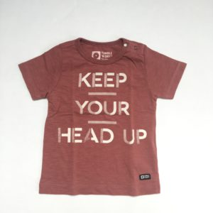 T-shirt keep your head up Tumble 'n Dry 74