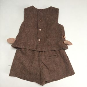 Jumpsuit sleeveless bordeaux Zara 86