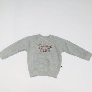 Sweater grijs mermaid gang Cos I said so 80/86