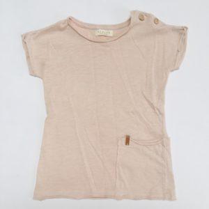 Shirtdress oud roze Nixnut 9-12m