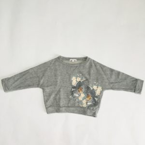Maxi Sweater leopards Chloé kids 2 jr