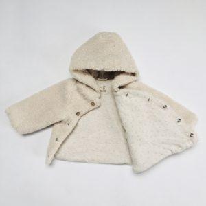Teddy jasje met berenzakje Zara 1-3m