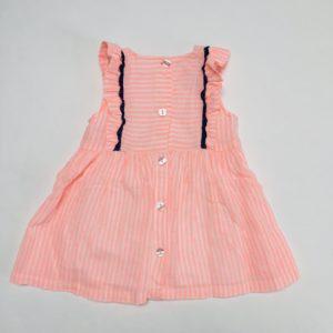 Kleedje fluo pink stripes P'tit Filou 3m
