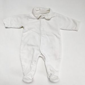 Onesie bear back knit First 50