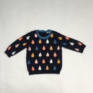 Truitje druppels knitwear Benetton baby 56
