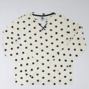 Longsleeve stars Petit Bateau 140