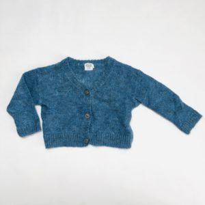 Gilet knit blauw Feliz by Filou 9m