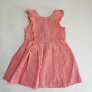 Roze linnen kleedje Jacadi 5jr