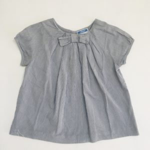 Bloesje shortsleeve bow stripes Jacadi 5jr