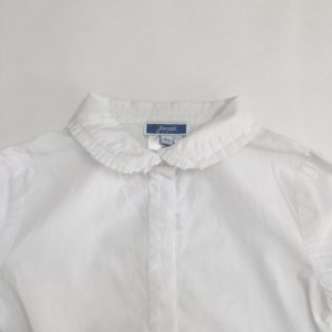 Meisjeshemd wit Jacadi 5jr
