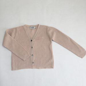 Gilet tricot roze Filou and friends 5 jr
