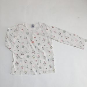 Pyjama birds and flowers Petit Bateau 5 jr