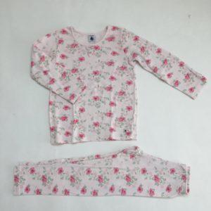 Pyjama roses Petit Bateau 5 jr