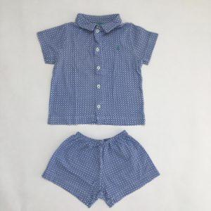 Pyjama kort Petit Bateau 3jr
