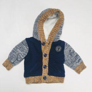 Gevoerde sweater met kap Mexx 3-6m