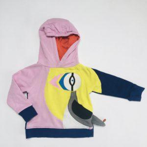 Hoodie papegaaienduiker ZulupaPuwa by JBC 98