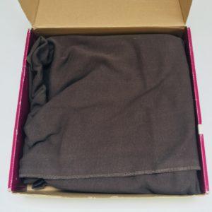 Draagdoek tricot slen bruin Babylonia 2-18kg