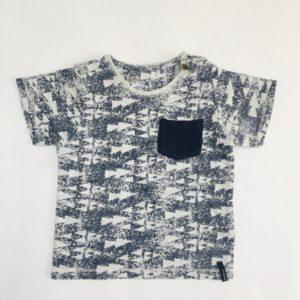 T-shirt triangles met zakje Noppies 80