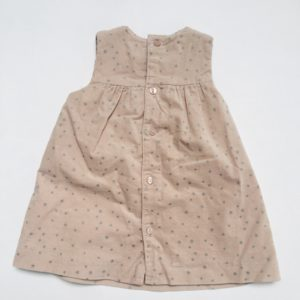 Kleedje sleeveless ribfluweel stars Zara 74