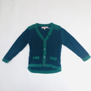 Gilet blauw/groen Fred and Ginger 80