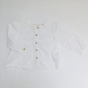 Blouse wit Zara 12-18m