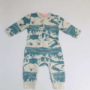 Onesie forest Kiekeboe 68