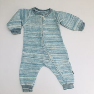 Onesie blue stripes Kidscase 68