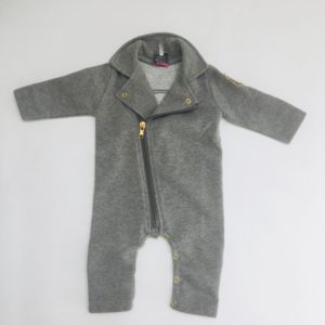 Onesie glitter grey Little Karl Marc John 3m