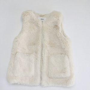 Teddy jasje sleeveless Zara 110