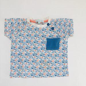 T-shirt fish Blablabla 9m
